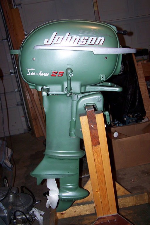 1953 Johnson 25HP – Antique Outboard Motor Club,Inc