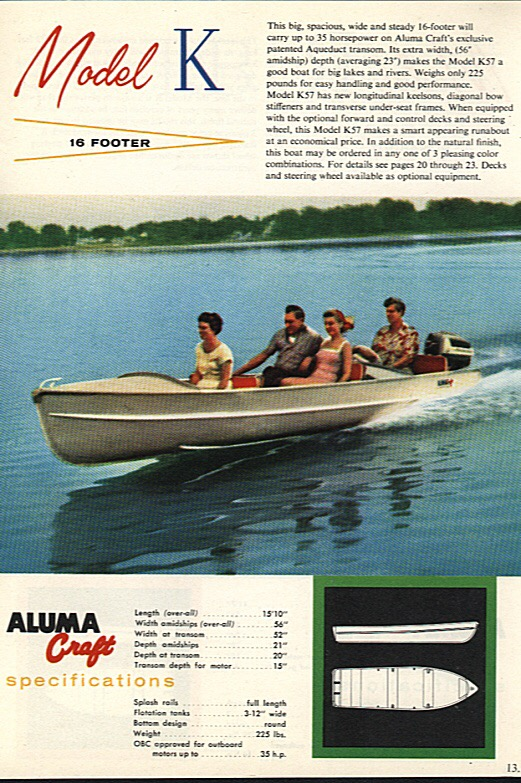 what model of alumacraft – Antique Outboard Motor Club,Inc