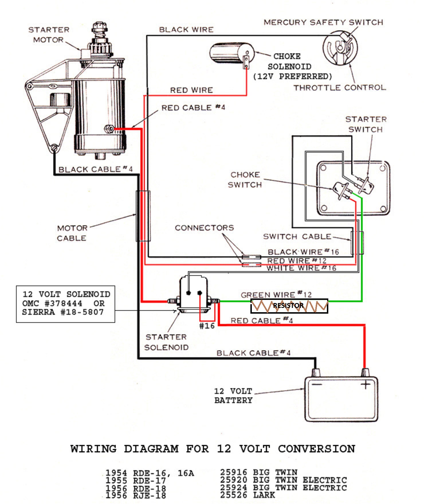 Testing Solenoids – Antique Outboard Motor Club,Inc on farmall m 12v wiring diagram, 12 volt battery to 24 volt diagram, 12 volt conversion guide, 12 volt conversion farmall h, 24 volt system wiring diagram, volt gauge wiring diagram, 12 volt battery wiring, 12 volt 6 volt converter, 12 volt voltage regulator diagram, 12 volt conversion wiper motor, 12 volt tractor conversion, 12 volt alternator conversion, 12 volt 8n alternator install, 12 volt to 6 volt, 12 volt conversion ford, farmall super h wiring diagram, heater wiring diagram, 12 volt to 3 volt converter, 12 volt charging system diagram, 8n 12 volt conversion diagram,
