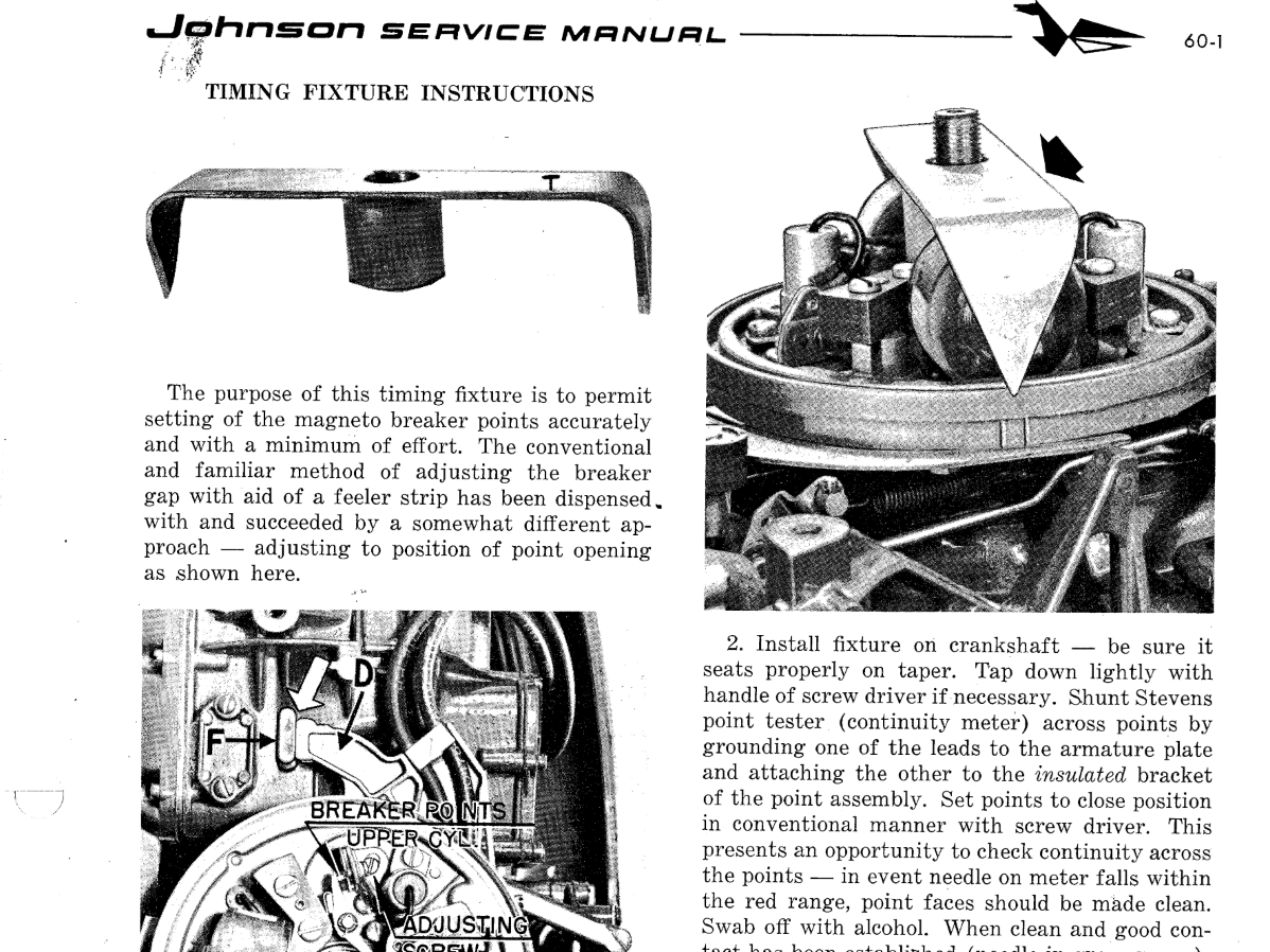 Re: 1952 Johnson Seahorse RD12 25 HP – Removing Flywheel and
