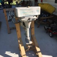 "1947  ""SPEEDY TWIN""  OUTBOARD   -  3 HP SEA KING  -  12  HP SEA KING FOR SALE"